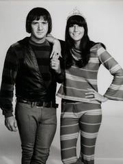 Sonny Bono and Cher in the mid-1960s.