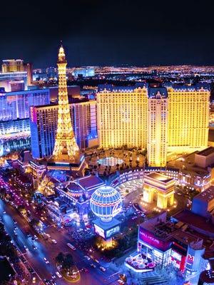 The Paris Las Vegas casino resort.