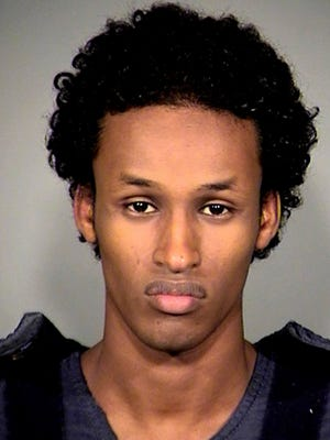 A Nov. 27, 2010, file photo provided by the Multnomah County, Ore., Sheriff's Office, shows Mohamed Mohamud.