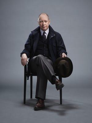 "James Spader as ""Red"" Raymond Reddington in 'The Blacklist.'"