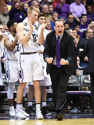 Northwestern coach Chris Collins was an All-ACC player at Duke.