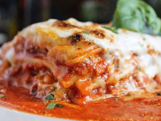 Traditional lasagna available at From Scratch in Ridgewood