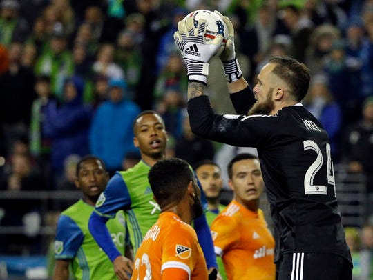 Sounders goalkeeper Stefen Frei allowed 1.09 goals