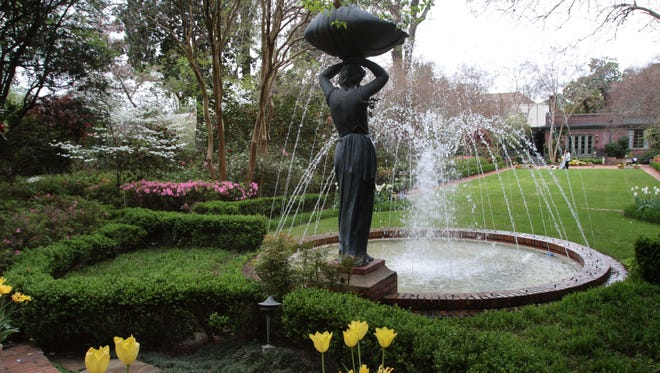 The ELsong Gardens at Biedenharn Museum and Gardens in bloom during the spring.
