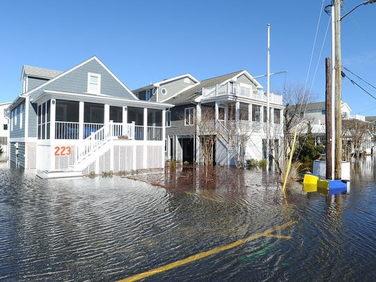Flooding in Bethany Beach.