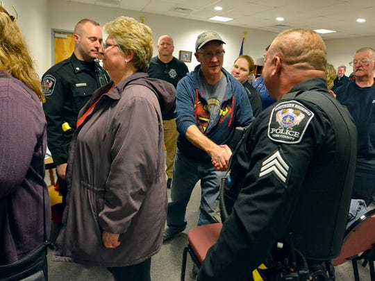 New Freedom residents thank Southern Regional Police