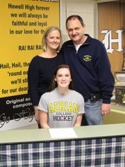 Maggie Mieter will play women's hockey at Adrian College