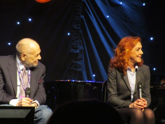 "Composer Charles Strouse and original ""Annie"" star"