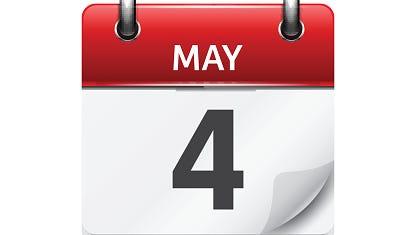 May 4.