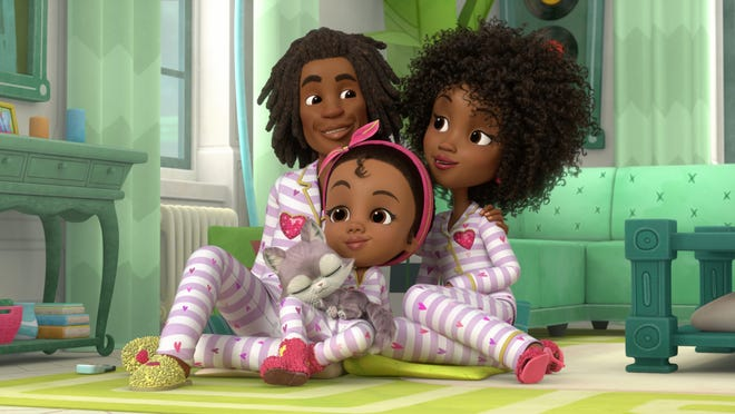 """""""Made by Maddie,"""""""" airing on Nick Jr. later this month, bears a striking visual resemblance to the Oscar-winning film """"Hair Love."""""""