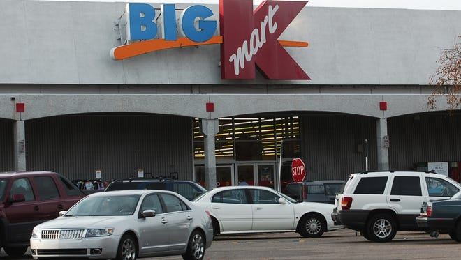 The Kmart store on S. College.