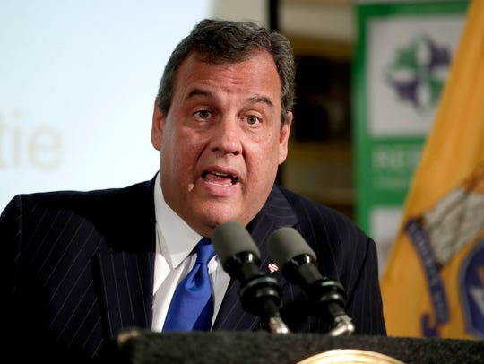 Outgoing New Jersey. Gov. Chris Christie could win