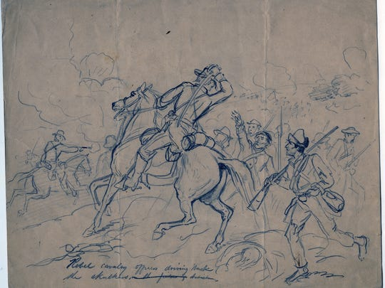 """A Saturday program at the Mississippi Museum of Art explores """"Art of Commemoration,"""" in conjunction with the current exhibition, """"Civil War Drawings from the Becker Collection."""""""