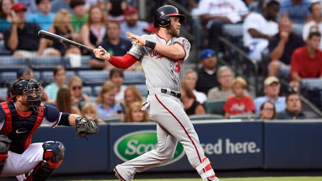 Bryce Harper was the leading vote-getter in the National League.