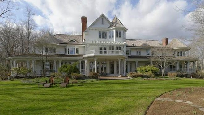 The 32-acre estate in Armonk that Ron Howard and his wife sold in July.