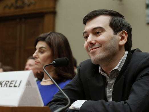 Martin Shkreli, former CEO of Turing Pharmaceuticals