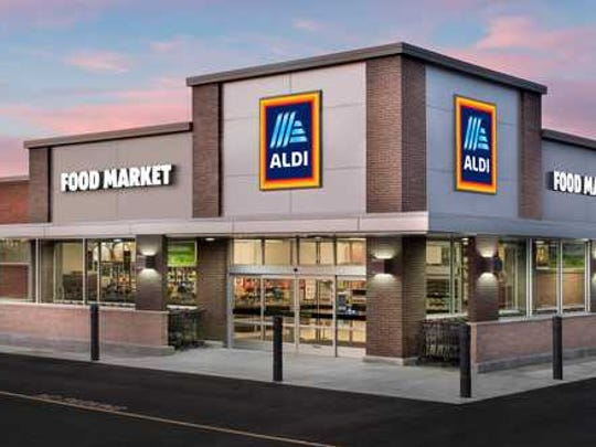 An Aldi store.