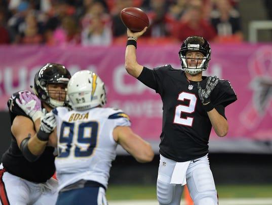 NFL: San Diego Chargers at Atlanta Falcons