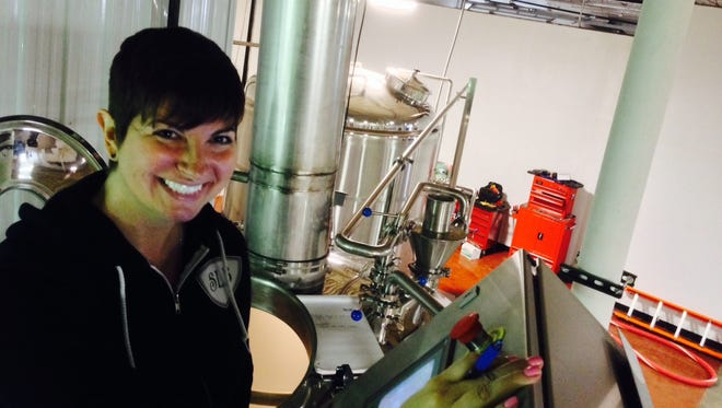 CEO and brewer Eilise Lane of Scarlet Lane Brewing Co.