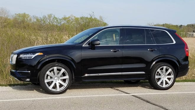 The Volvo XC90 features a number of luxury options.