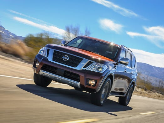 Nissan lengthened the Armada by an inch and tried to