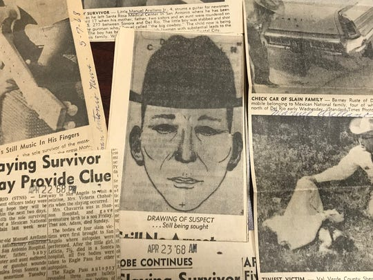 The Arellano slayings dominated headlines for several weeks in the spring of 1968, and the killer or killers have never been found.