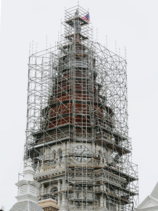 LAF Courthouse dome update