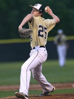 T.L. Hanna's Jackson Lindley and the Yellow Jackets broke into the Class AAAAA polls at No. 9 this week.