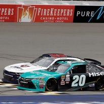 NASCAR: Denny Hamlin's Xfinity Series win at MIS ruled encumbered