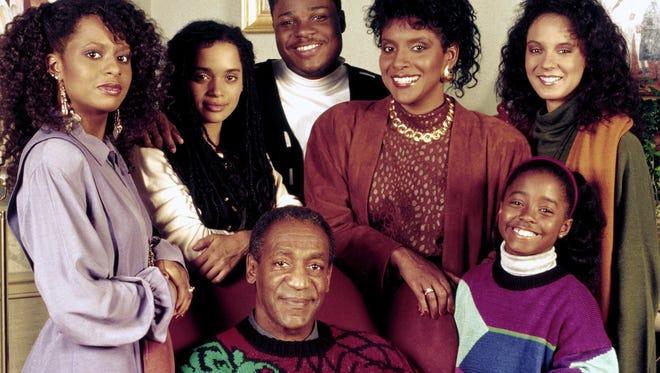 'The Cosby Show' cast in Season 6.