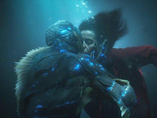 "Doug Jones and Sally Hawkins in ""The Shape of Water."""