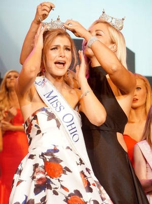 Alice Magoto was crowned Miss Ohio in June 2016 at the Renaissance Theatre.