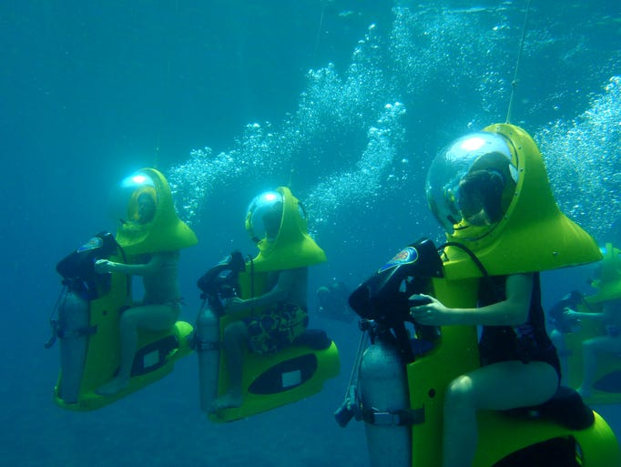 Aqua Adventures offers underwater adventure via B.O.S.S.