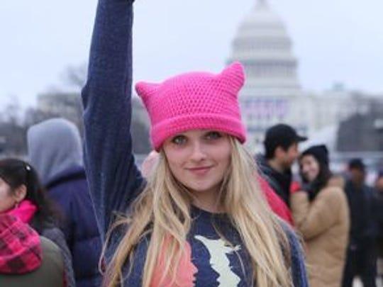 Vivian Helvajian, 16, of Pasadena, California at the