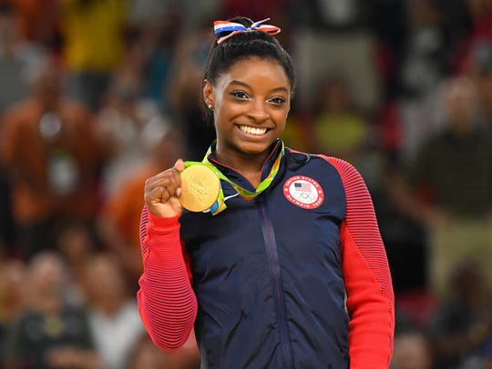 Simone Biles revealed in a post Monday she was a victim