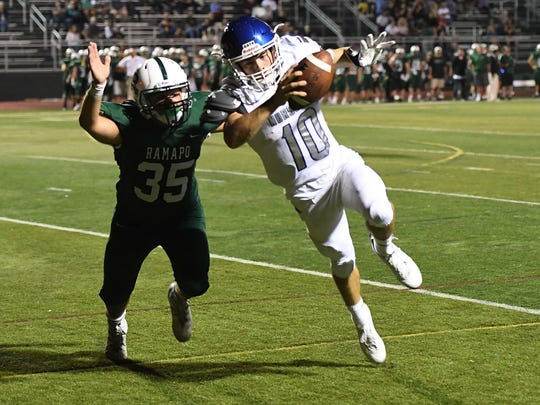 NV/Demarest QB Austin Albericci and the No. 3 Norsemen will play No. 6 Dwight Morrow in the first round of the North 1, Group 3 playoffs.