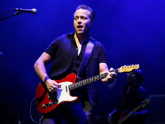 Jason Isbell and the 400 Unit played the Outlaw Music