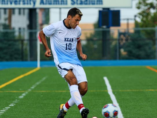 Kean University student-athlete Alex Noriega earned