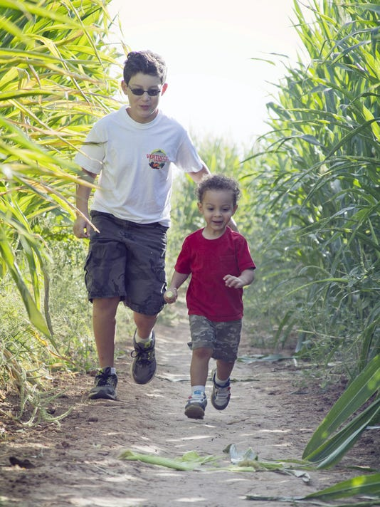 10/1-11/6: Vertuccio Farms Fall Festival and Corn Maze