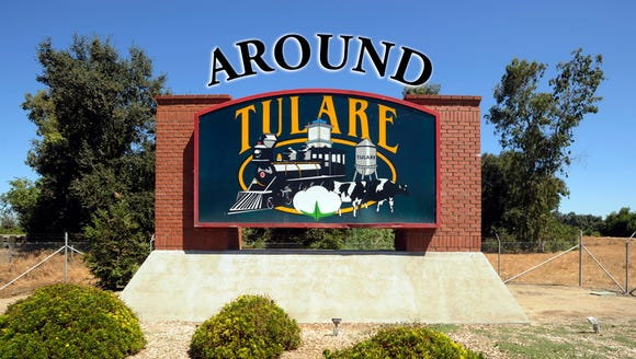 Around Tulare logo