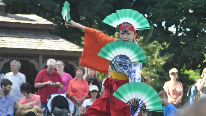 Traditional dances will be part of the annual Bon-Odori Dance Festival for Peace, Aug. 6 at Kingston Point Beach Park.