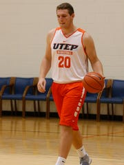 Freshman center, Joey St. Pierre out of Spring Grove, Ill. Richmond-Burton High School is the latest Miner recruit to hit the hardwood at UTEP. Coming in at 6-10 and 280 lbs he is already being compared to former Miner great Cedric Lang.