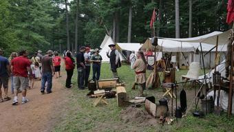 Mosinee's annual Little Bull Falls LogJam Festival