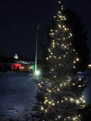 Forbes Funeral Home and Cremation, Sturgeon Bay, displays a lighted Chrismas tree at the funeral home in memory of those who passed away since last Christmas.