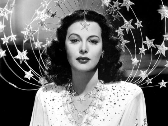 "Hedy Lamarr is seen in 1941's ""Ziegfield Girl."""