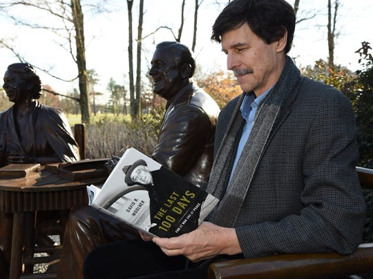 David Woolner, senior fellow and resident historian at the Roosevelt Institute, professor of history at Marist College, and senior fellow at the Center for Civic Engagement at Bard College, pictured at the Franklin D. Roosevelt Presidential Library and Museum in Hyde Park.