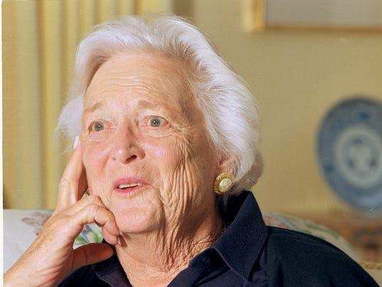 Barbara Bush Remembered at Namesake Elementary