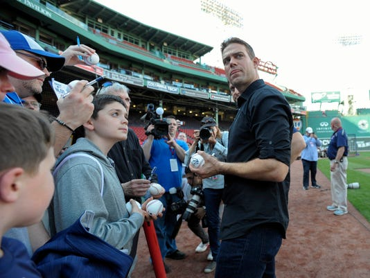 MLB: Chicago Cubs at Boston Red Sox