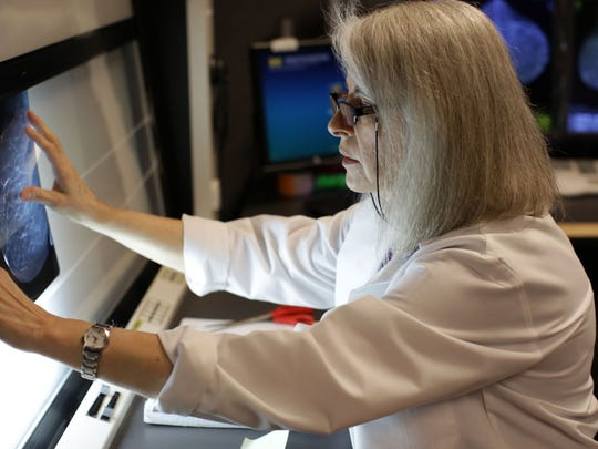 """""""We're not going to diagnose all cancers on mammography,"""" says Dr. Renee Wayne Pinsky, a radiologist who says finding cancer in a mammogram can be like searching for a cotton ball in a snowstorm."""