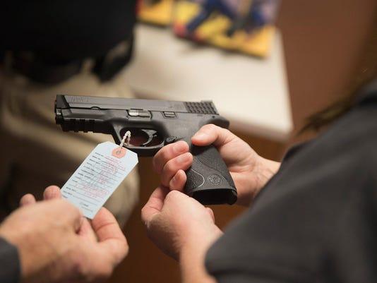 Gun Shop Near Ferguson Sees Increase In Business Ahead Of Awaited Grand Jury Decision